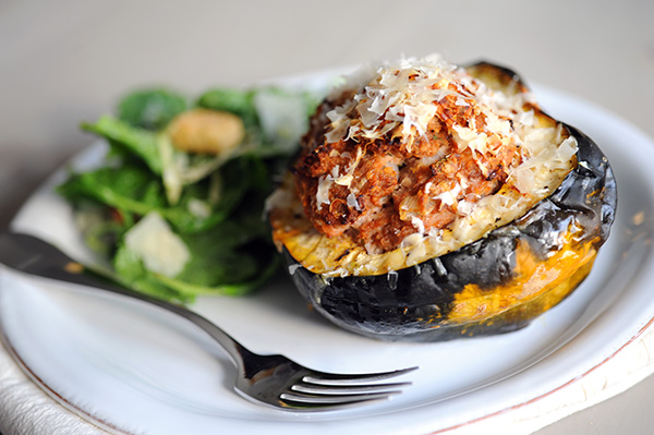 Meatloaf Stuffed Squash-9009