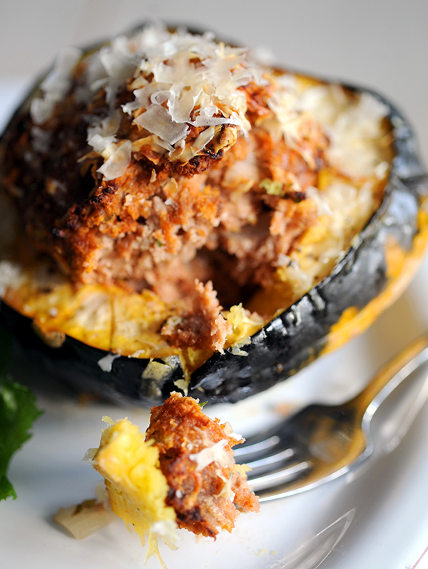 Meatloaf Stuffed Squash-9024