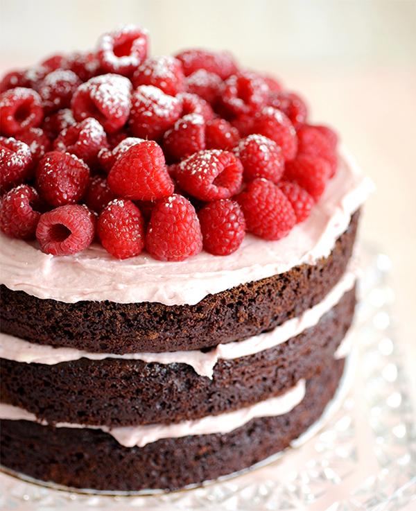 Pleasant Chocolate Raspberry Cake For A Very Special Birthday Styling My Funny Birthday Cards Online Fluifree Goldxyz