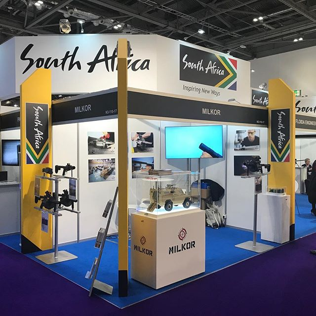 It was a good show at #dsei2017 in London.