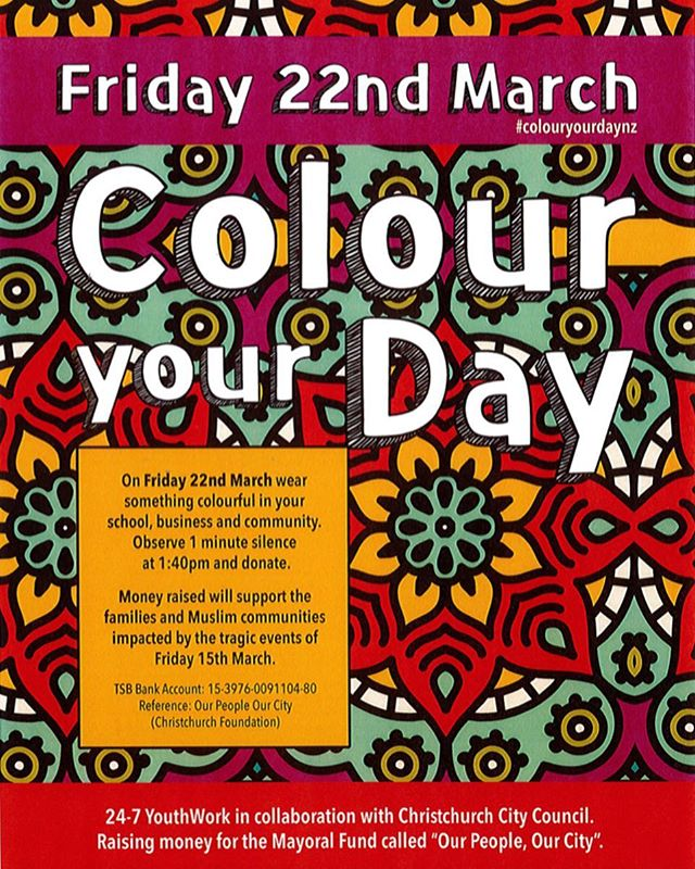 I love this sentiment. #colourourdaynz is right up my alley ❤️ I have a @citizenwomenstore Mustard Category Top to wear and the kids are planning out their colourful outfits. It gives us an easy and age appropriate way to talk about and remember the people who were lost last week. They take a gold coin with them to school who'll donate on their behalf (I'll give my donation to them too)  @colourourstory will you be doing #colouryourdaynz as well? X  Here's an article with more detail. It says that red would be inappropriate to wear but all other colours are fine:  https://www.nzherald.co.nz/business/news/article.cfm?c_id=3&objectid=12214209