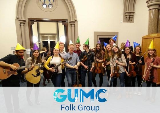 Folk Group - Monday 6pm-7.30pm Music Department, 14 University Gardens.