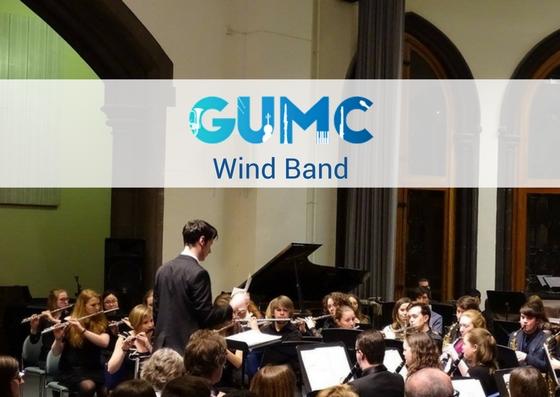Wind Band - Monday 6.30pm-8.30pmGlasgow University Concert Hall