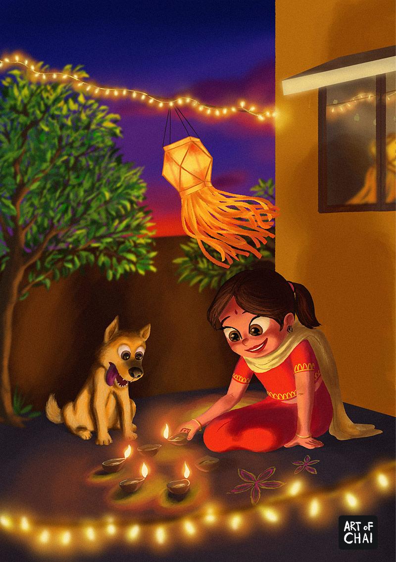 Diwali time