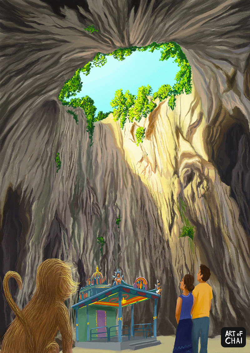 Limestone caves of KL.