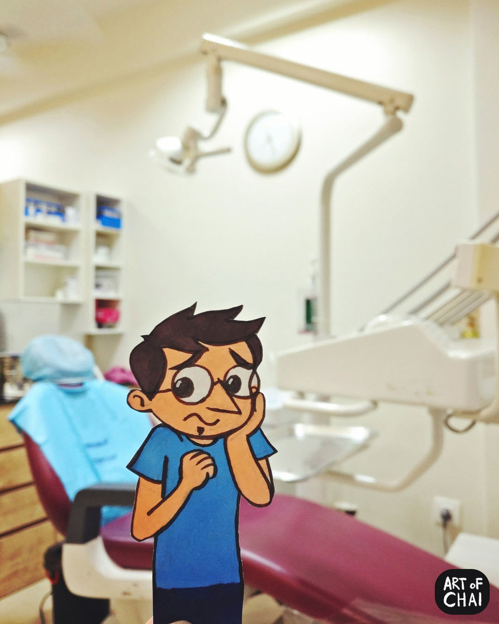 Wisdom tooth pain means the scary trip to the dentist.