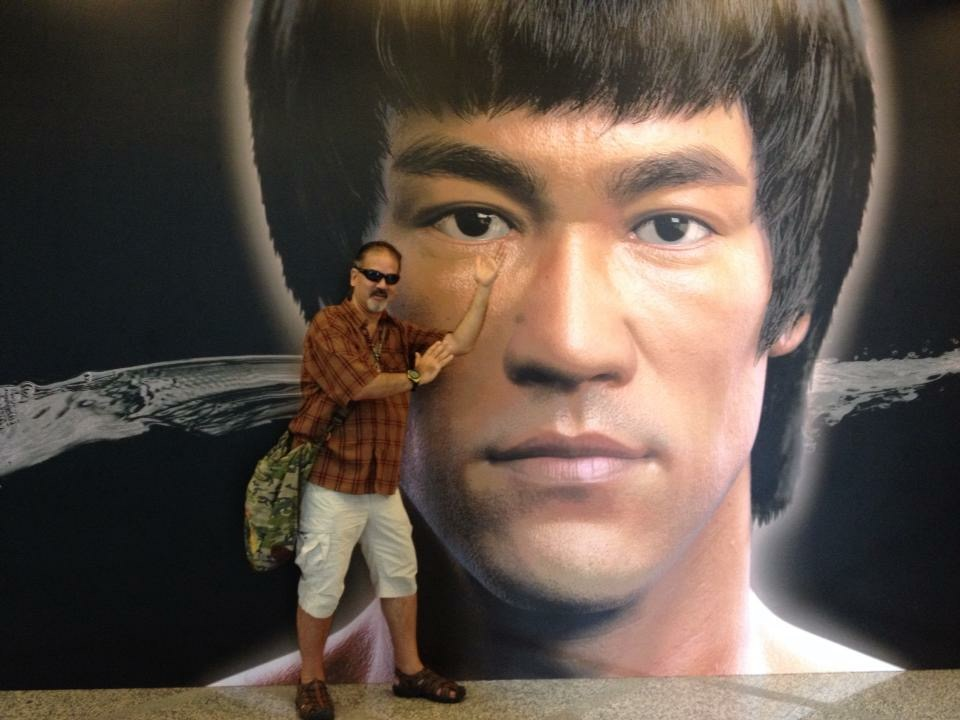 """Bruce Lee--""""Adapt what is useful, reject what is useless, and add what is specifically your own.""""    No doubt you may have noticed that Bruce Lee has always been a role model for me."""