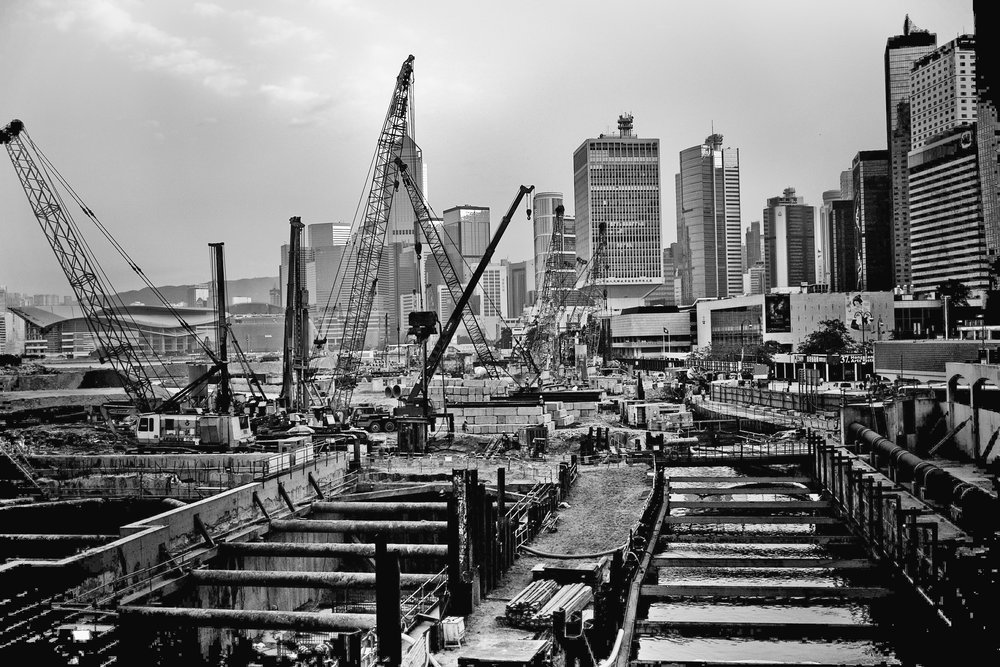 Central Reclamation Project-Hong Kong , February 2008 (All Rights Reserved, William Banzai7) (Camera, Leica M8)