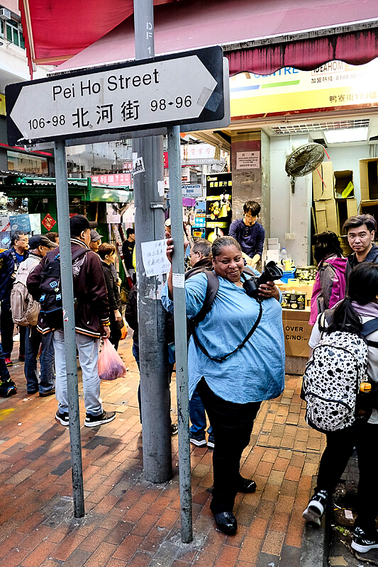 Documenting the streets of Sham Shui Po...