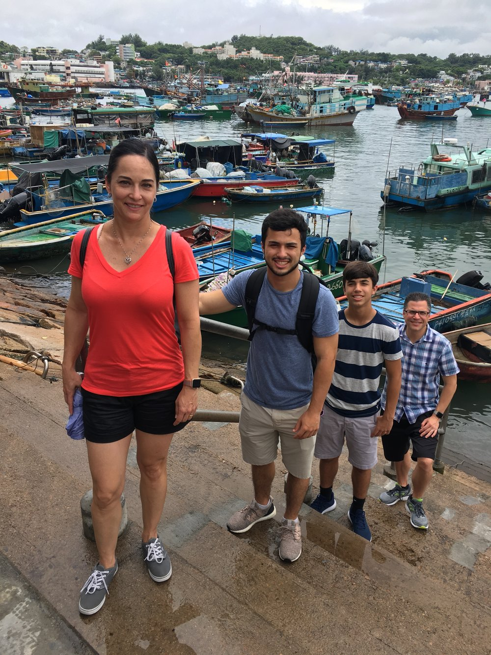 Cheung Chau Island, is the perfect venue for a family day outing...even in the rain!