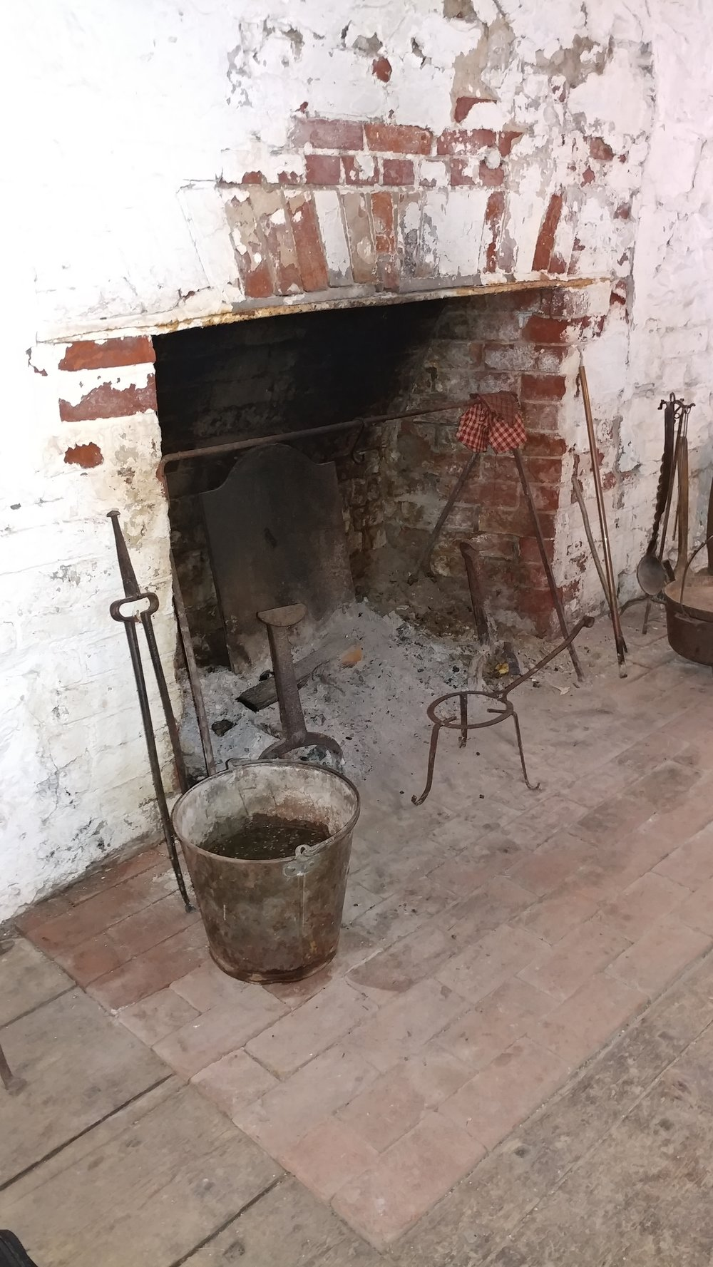 Hearth at Old Fort Niagara - North Redoubt