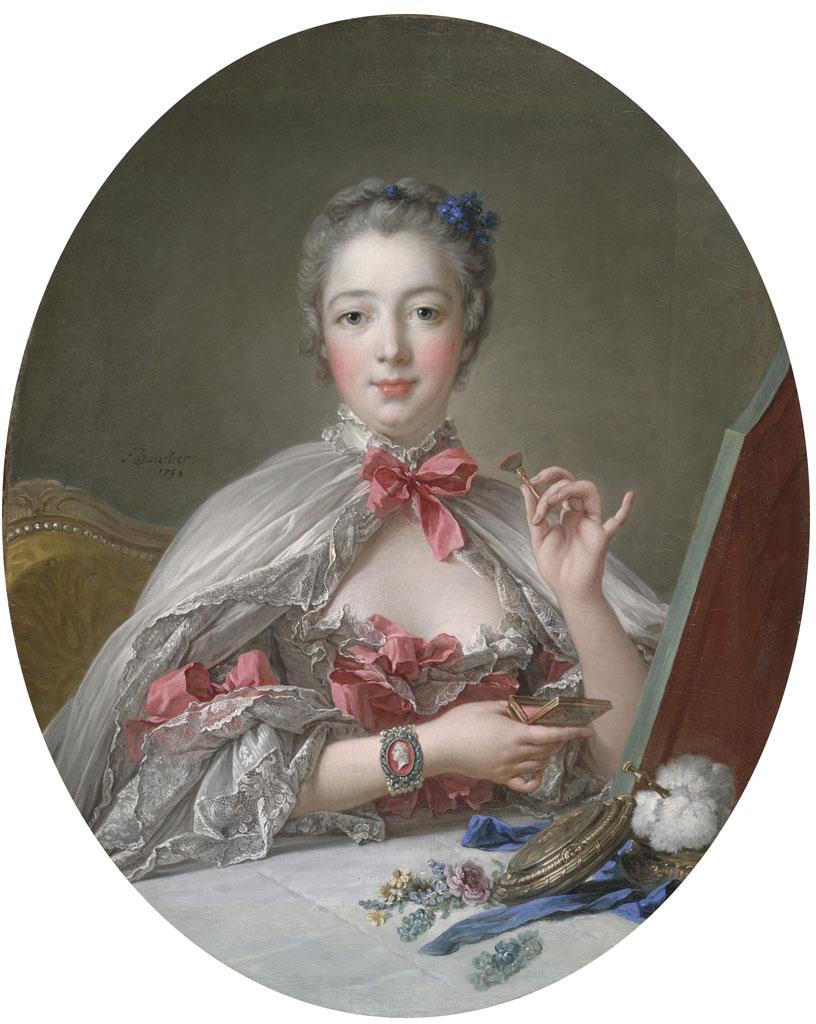 Une Dame à sa Toilette by François Boucher