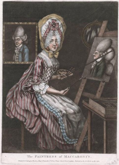 The Paintress of Macaroni's