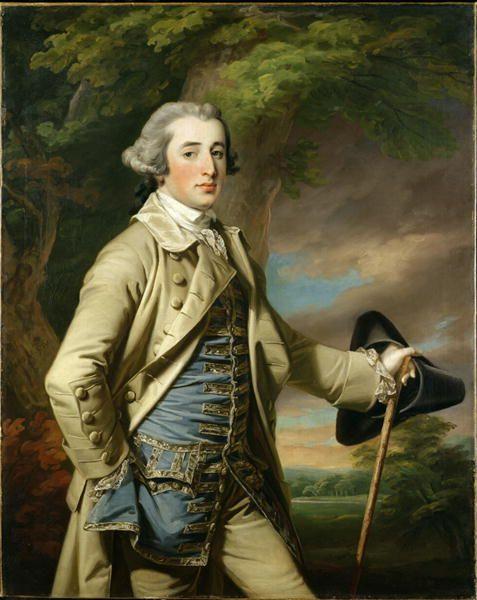 Francis Burdett, by Francis Cotes, 1764
