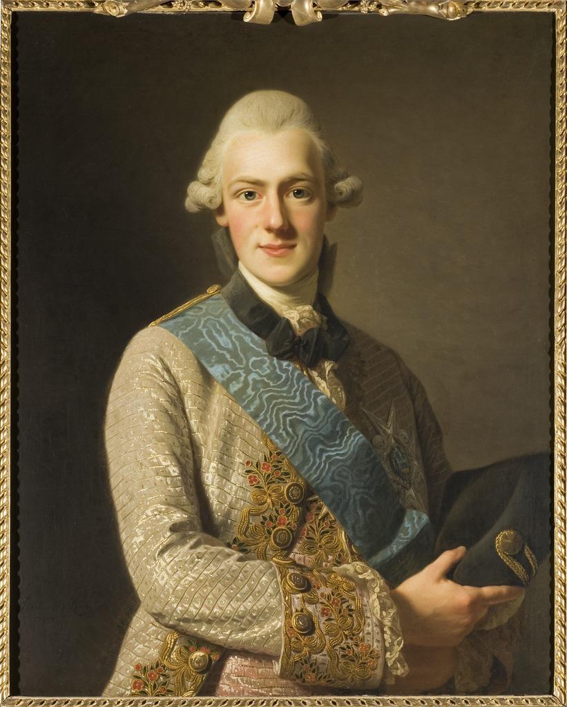 Prince Frederick Adolph of Sweden, by Alexander Roslin, 1770