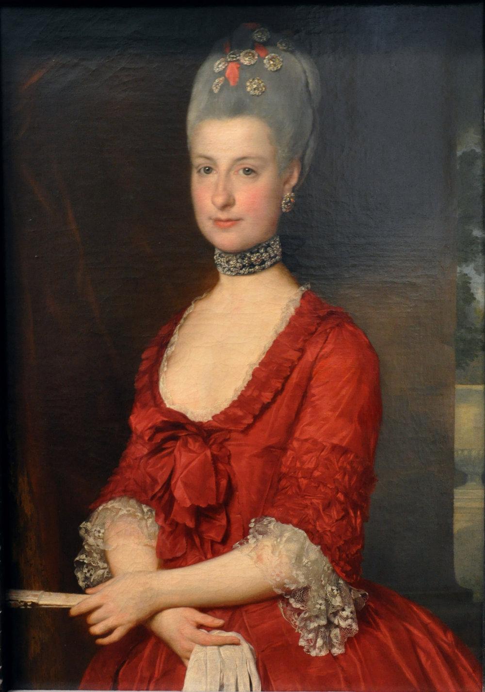 Archduchess Maria Christina, Duchess of Teschen, by Marcello Bacciarelli, 1766