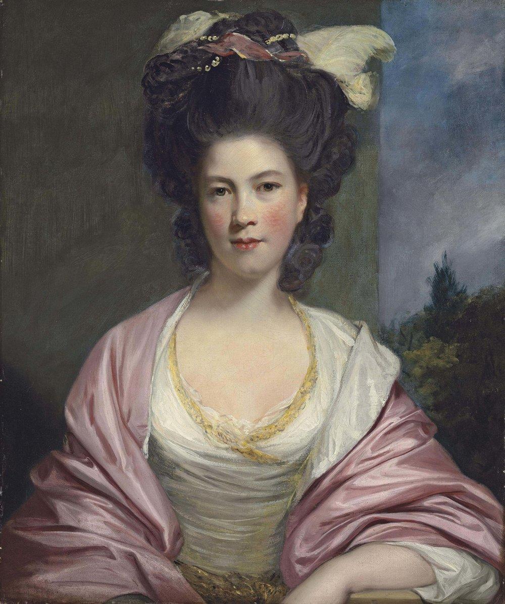 Portrait of Elizabeth, Lady Forbes, by Sir Joshua Reynolds