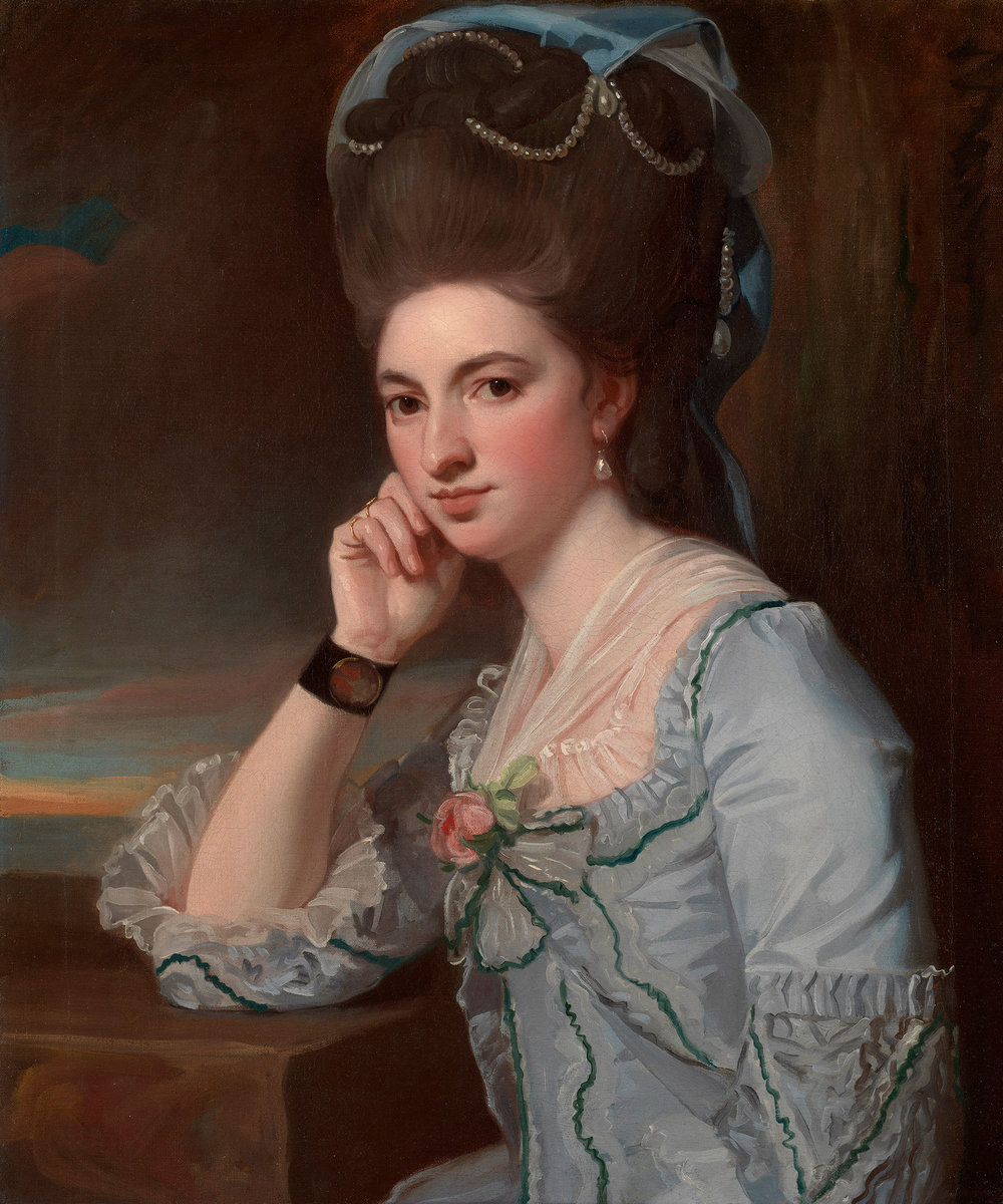 Portrait of a Lady, by George Romney