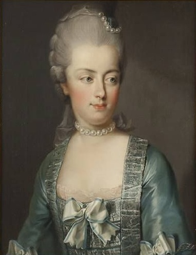 Marie Antoinette, by Joseph Hickel, 1773