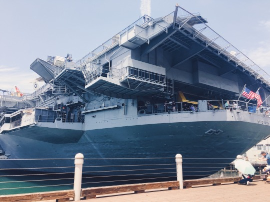 San Diego: USS Midway Museum — Signed by Roxci