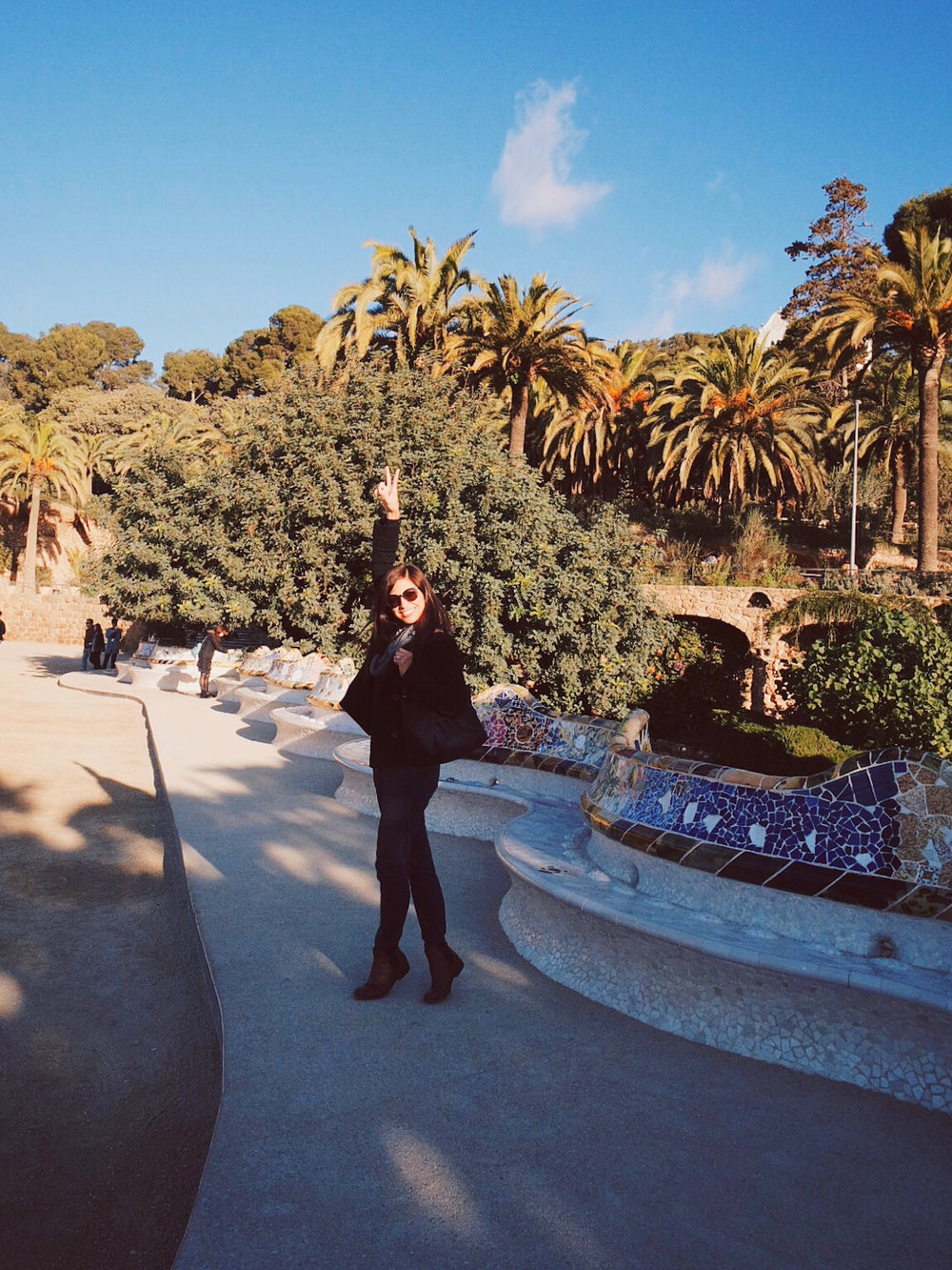 roxci parc guell barcelona spain