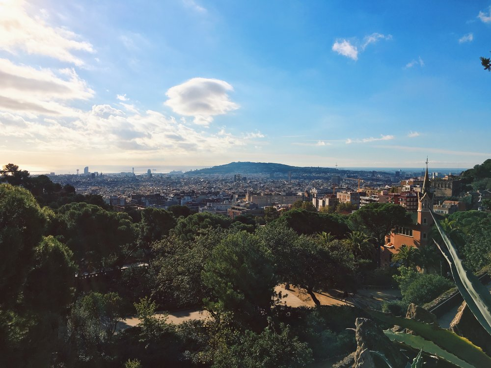 view parc guell barcelona spain.JPG