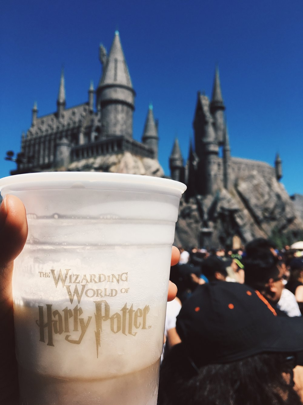 butterbeer harry potter universal studios los angeles