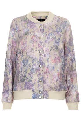 Floral Bomber Jacket by Sister Jane at Topshop - £85.00