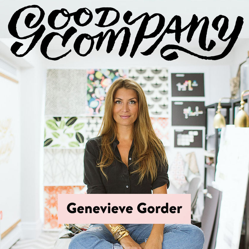 Good Company - A new podcast and book-azine by Grace Bonney, who helms Design Sponge