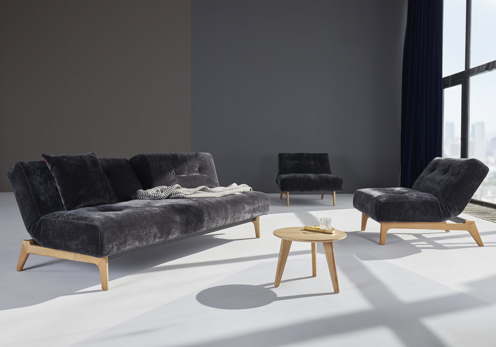 Innovation Living Buri Eik Splitback Sofa And Chair The Futon Company