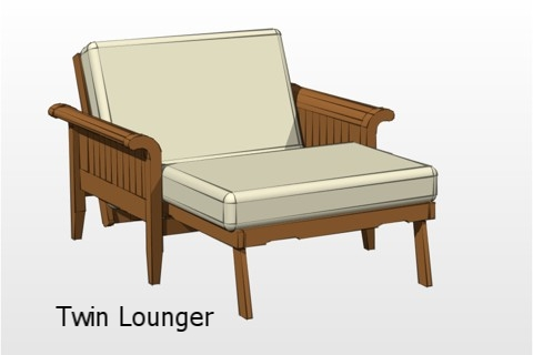 Twin Lounger