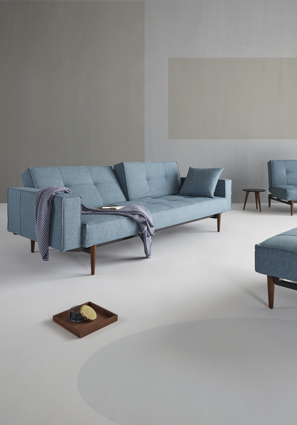 Innovation Living Splitback Sofa With Arms The Futon Company