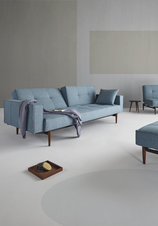 Innovation Living Splitback Sofa With Arms The Futon Company