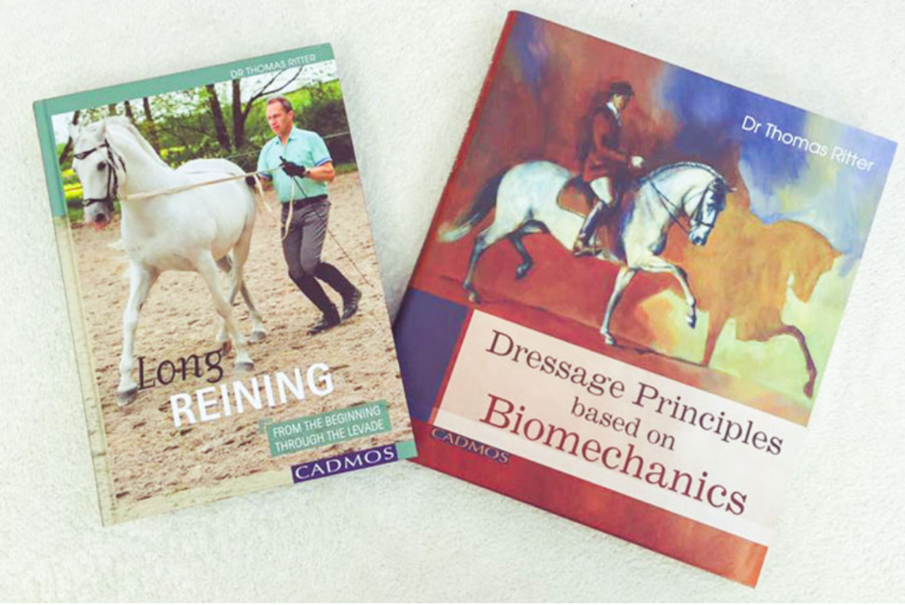 Our books - A great place to start is with the books:Dressage Principles based on Biomechanics (also on Kindle and in German)Longreining: From the Beginning Through the Levade (also in German)Coming Soon: Training the Flying Changes: A step-by-step guide for any horse or rider