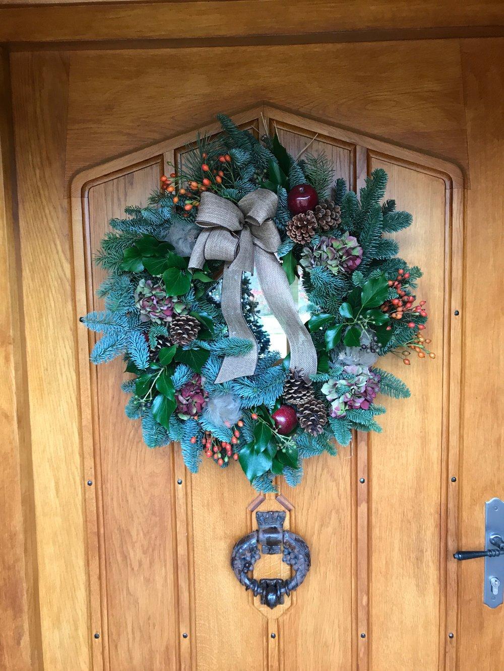 Christmas Wreath Class — GRACE