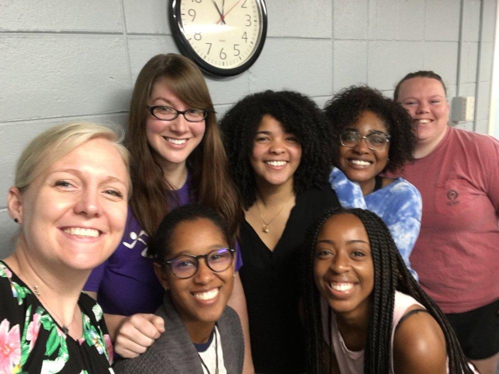Lab selfie - Summer 2018!