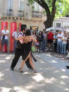 tango dancing buenos aires sunday market
