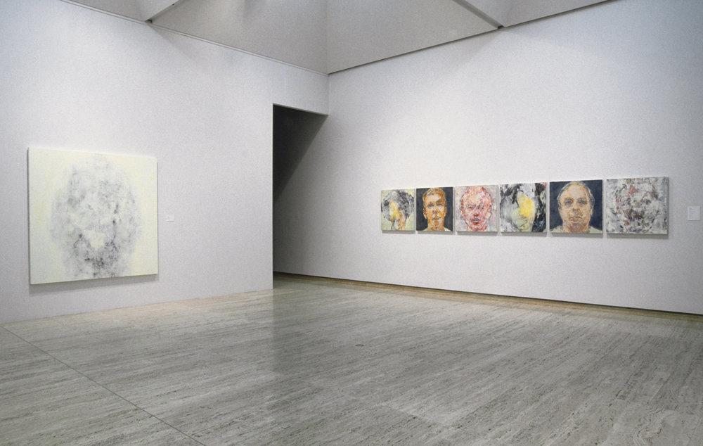 Heads Phase I & III (Self Portraits and Wanganui Heads)   Art Gallery of New South Wales, Sydney, 1998