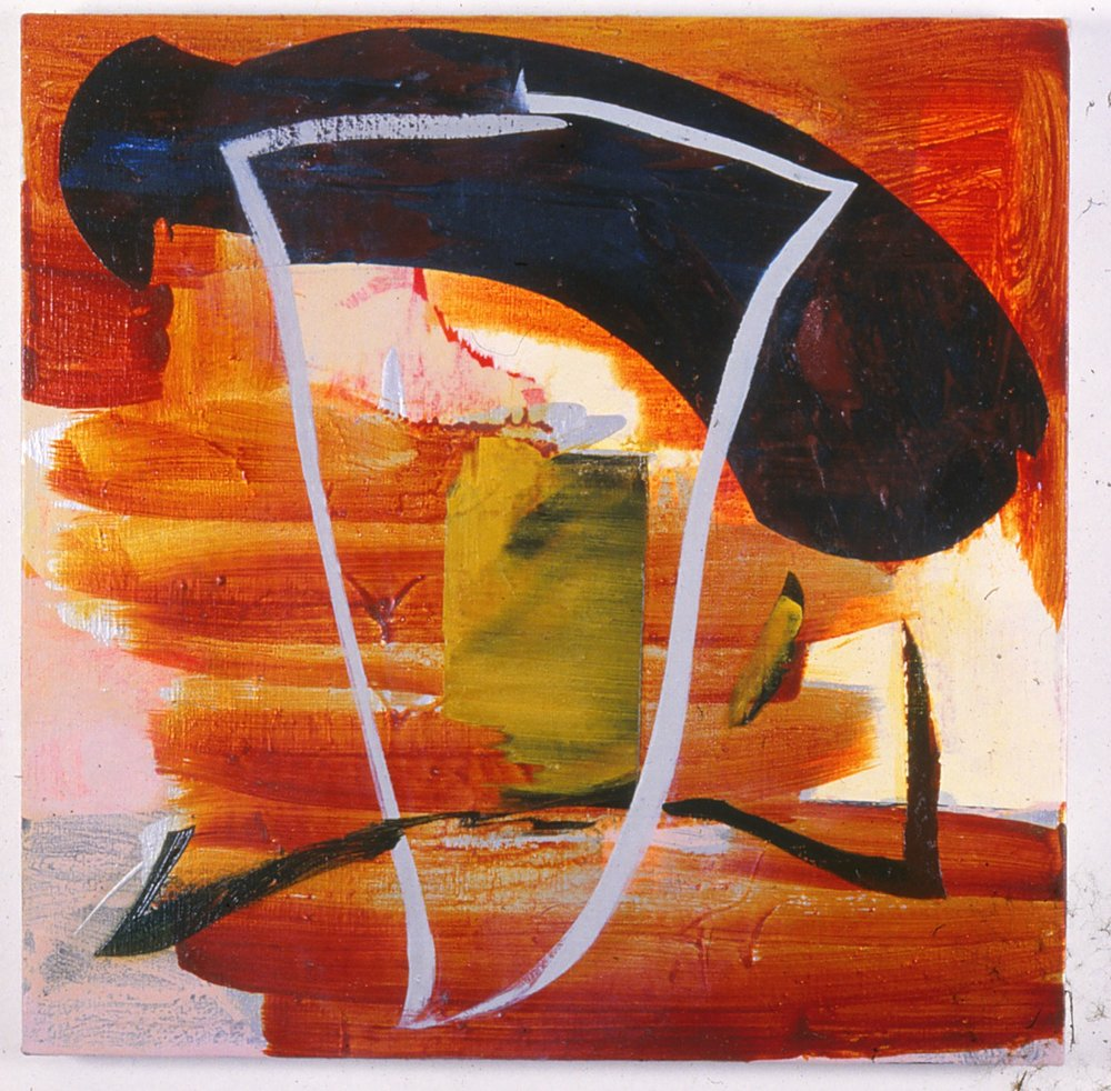 111) Matador 1990 oil:wax 76x76cm.jpeg
