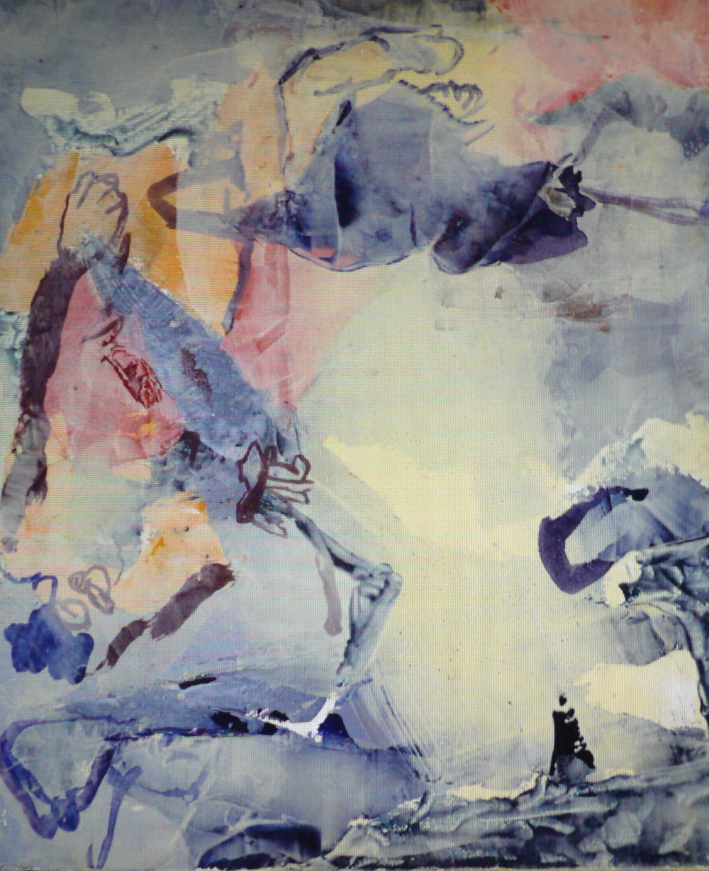 116) Retiro I 1992 oil:wax on linen 35.5x45.8 cm .JPG