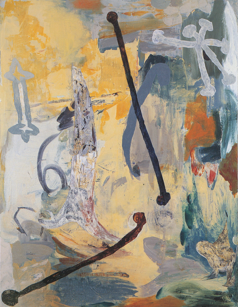 107) Once Upon a Time 1990 oil on linen 213x162.5cm.jpeg