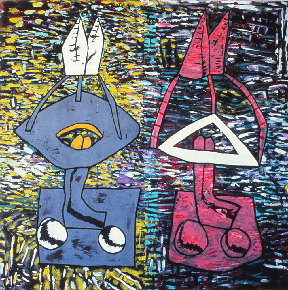 41) Curtsy, 1983 acrylic on canvas 203x203 cm.jpeg