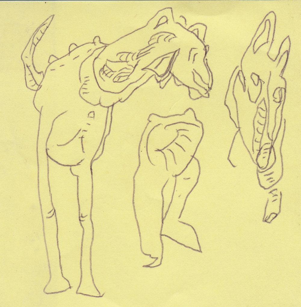 303) Untitled drawing 1984 biro on paper 7.5x7.5cm.jpg