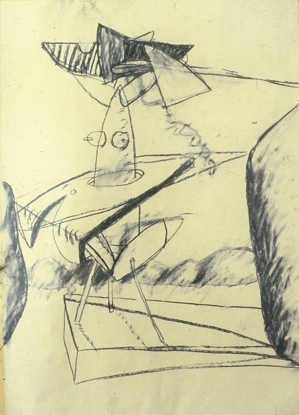 85) 1933, 1984 charcoal on paper 76x56 cm.jpeg