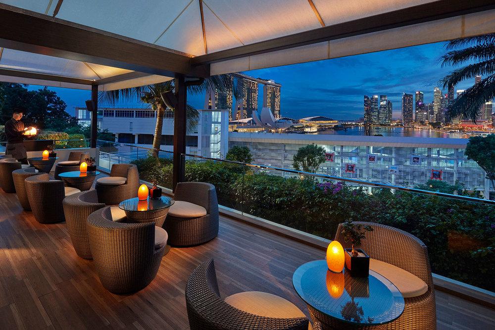 Mandarin Oriental Singapore – Fine dining overlooking the bay