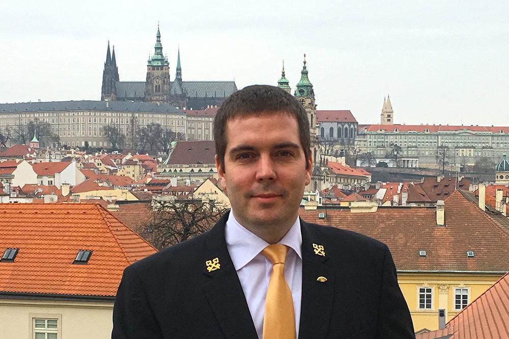 Pavel Ruml, Head Concierge of the Mandarin Oriental Prague