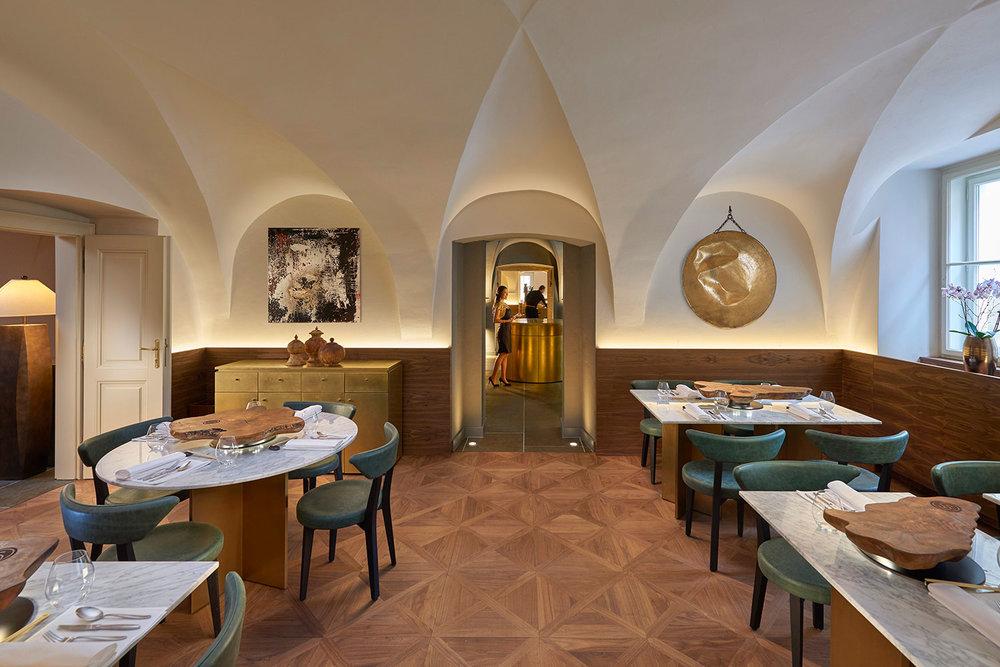 Spices restaurant at Mandarin Oriental Prague