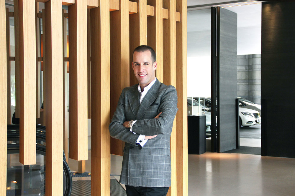 Marcel Thoma – General Manager at The Upper House Hong Kong