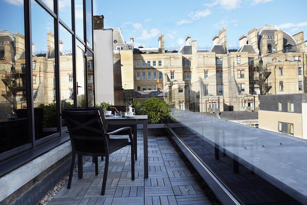 Como Suite Balcony at COMO The Halkin