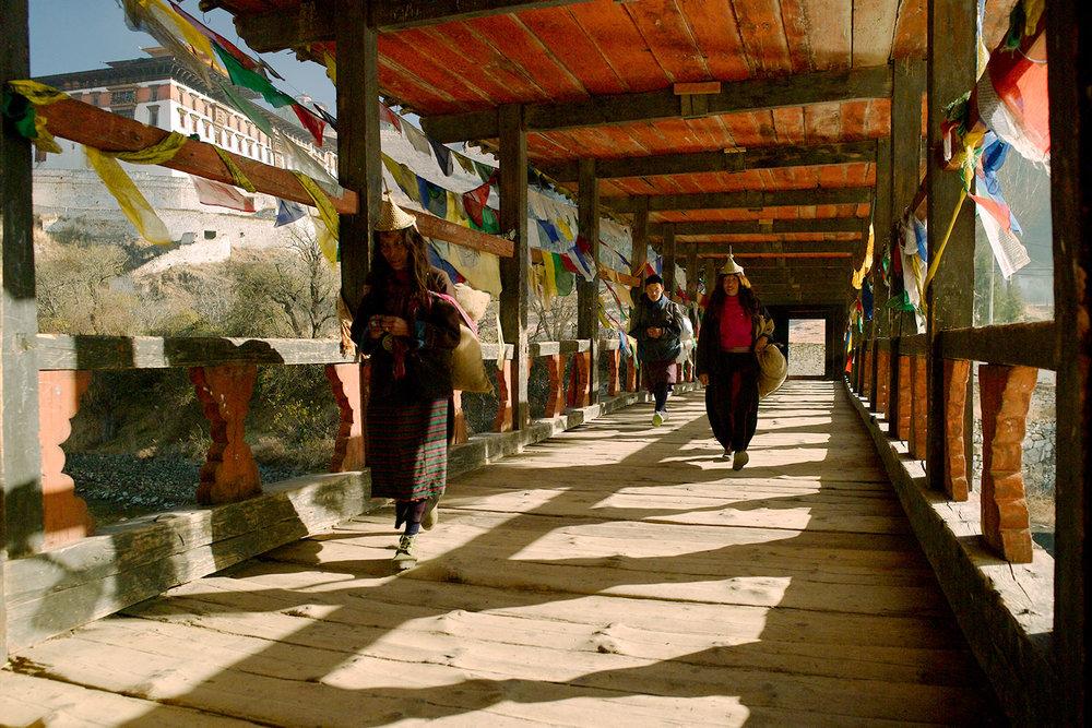 Paro Dzong Bridge